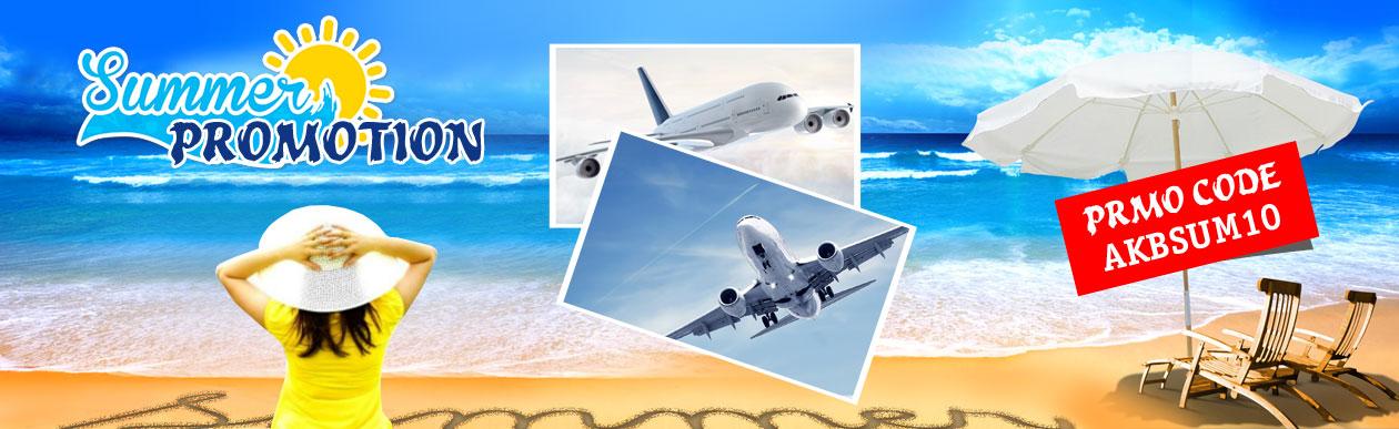 airline ticket promo